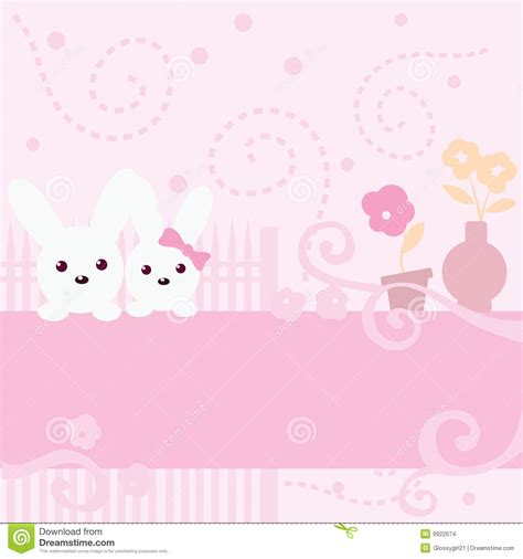 Map A4 Molang bunny pink background stock images image 9922074