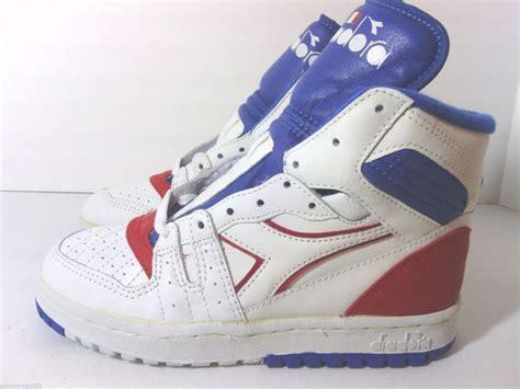 80s basketball shoes vtg 80s diadora slam jr og deadstock hi tops basketball