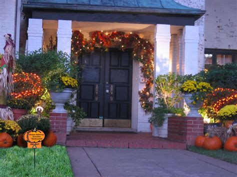 fall decorations for outside the home design with panache outdoor decorating for autumn