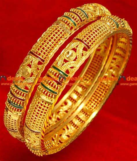 Bangle Gold Plated by Gold Plated Silver Bangles