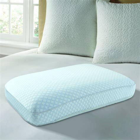 pure comfort memory foam pillow tempure rest cool comfort ventilated memory foam gel