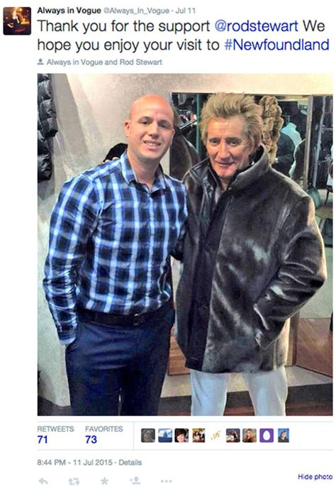 Stewarts Deal Upsets Rod by Upset Rod Stewart Claims He Didn T He Was Wearing