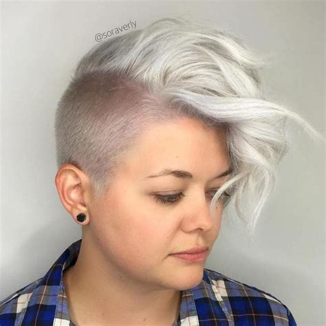half shaved pixie haircut 25 best ideas about half shaved on pinterest side cut
