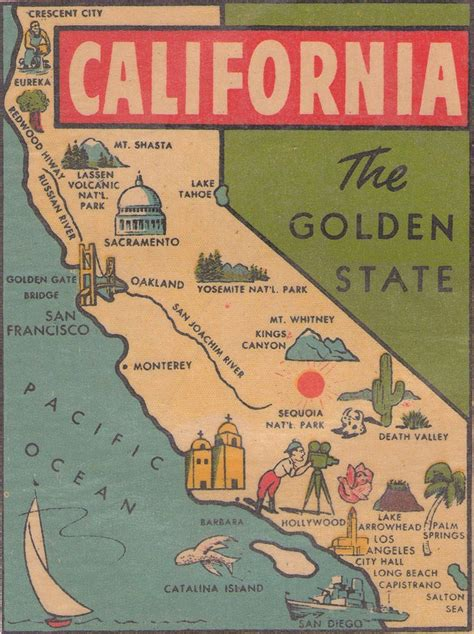 california map golden state california map illustration cartes america