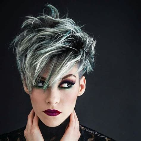 short frosted hair styles pictures 25 best ideas about frosted hair on pinterest blonde