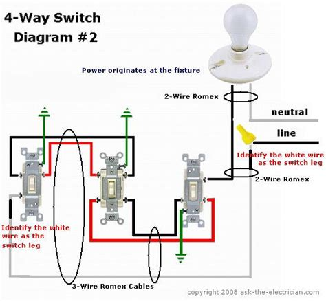 wiring a 3 way switch to an outlet wiring a 3 way switch elsavadorla