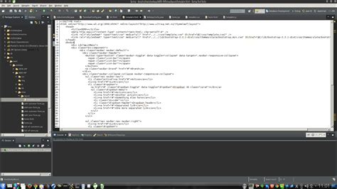 layout editor doesn t work eclipse eclipse sts html editor highlight syntax stack overflow