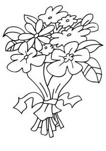 Bouquet Of Flowers Coloring Page free coloring pages of bouquet of flowers