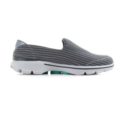 Skechers Go Walk 3 by Womens Skechers Go Walk 3 Charcoal Slip On Comfort Walking