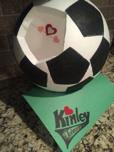 soccer valentines box soccer valentines box crafts with the kiddos