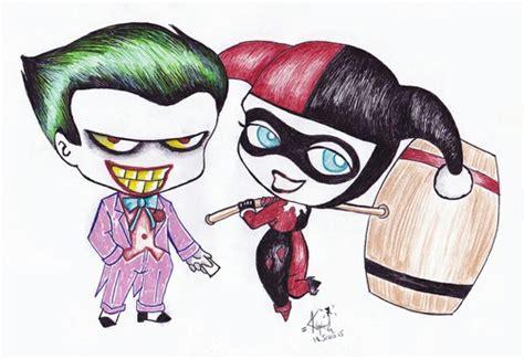 imagenes de joker girl joker and harley quinn drawing 3 on we heart it