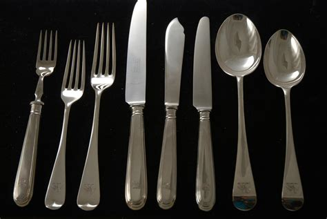 flatware sets a silver plate flatware set for 6 old english pattern