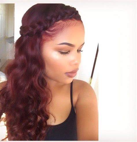 99j hair color best 20 burgundy hair ideas on