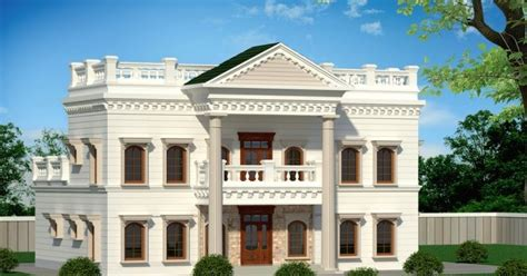 luxury bungalow design 5000 sq ft 5 bedroom palladian style luxury bungalow