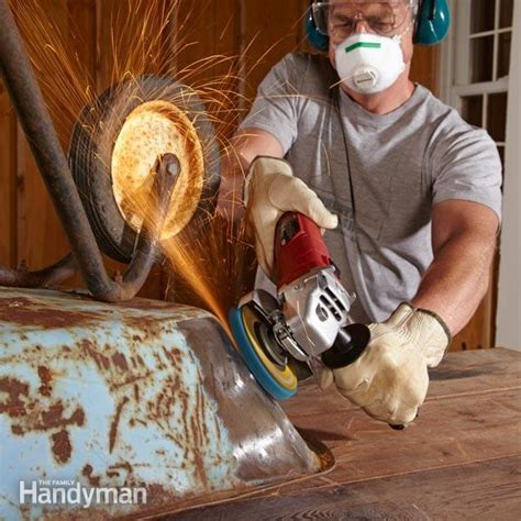 How To Remove Rust from Metal   The Family Handyman
