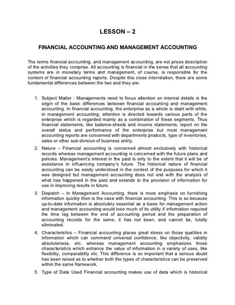 Financial Management Pdf Notes For Mba by Financial Accounting 2 Lecture Notes Pdf Healthymemo