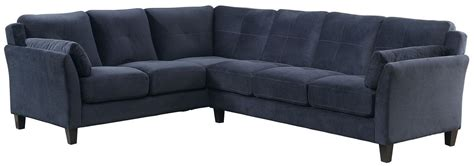Navy Sectional Peever Ii Navy Sectional From Furniture Of America