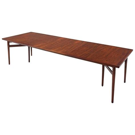 Big Dining Tables For Sale Large Arne Vodder Dining Table In Rosewood For Sale At 1stdibs