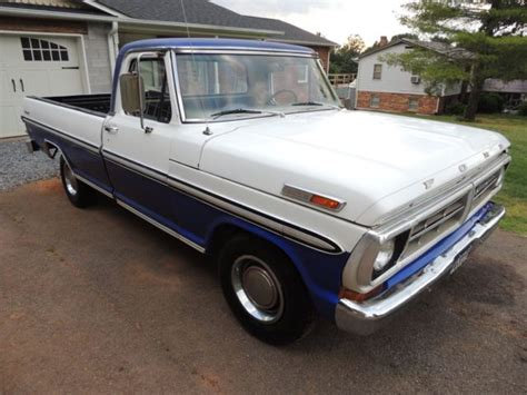 1972 ford f100 ranger 67 68 69 70 71 truck 302 v8 c4 automatic power steering for sale in