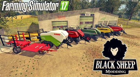 cara mod game lets farm fs17 pack balestacker reman and baler v 1 0 farming