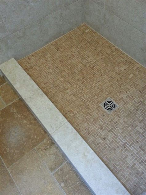 Shower Curb Cap by Schluter Shower Floor With Custom Curb Cap For No Bullnose