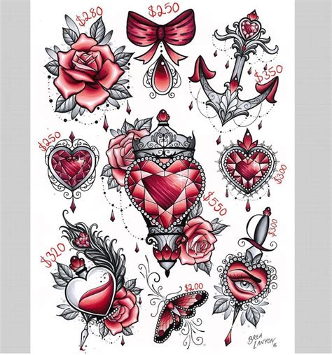 two heart tattoo designs shaped bottle design ideas