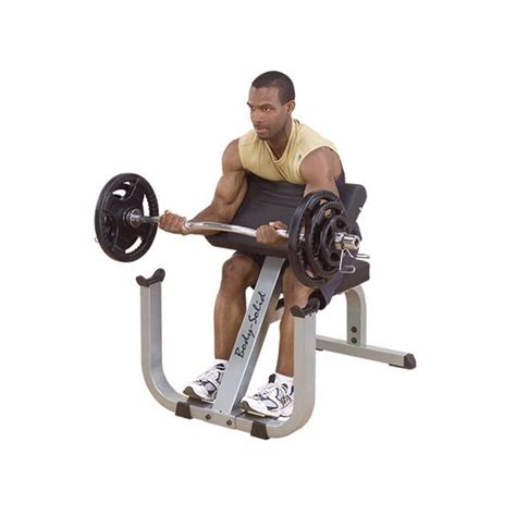 body solid preacher bench body solid gpcb329 2 quot x 3 quot preacher curl bench