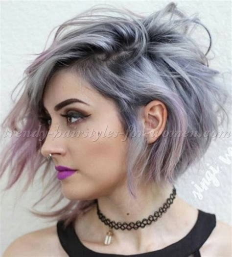 trendy gray hair styles bob haircut bob hairstyle for grey hair trendy