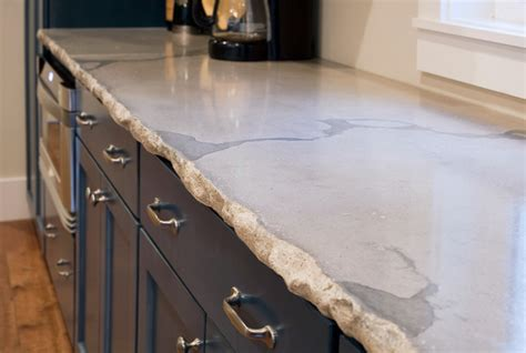Concrete Countertop Edge by Mt P Residence Kitchen Charleston By