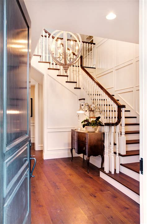 Front Entry Stairs Design Ideas Los Angeles Family Home With Transitional Interiors Home Bunch Interior Design Ideas