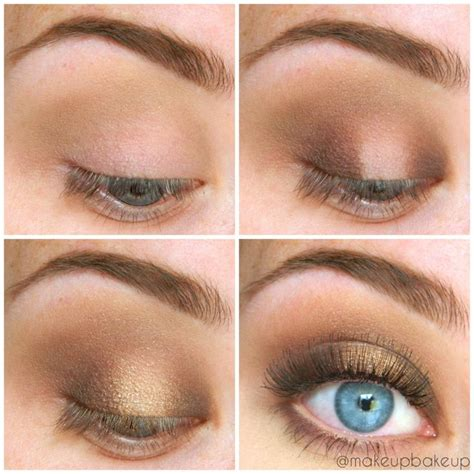 natural gold makeup tutorial 1000 images about blue eyes on pinterest neutral eyes