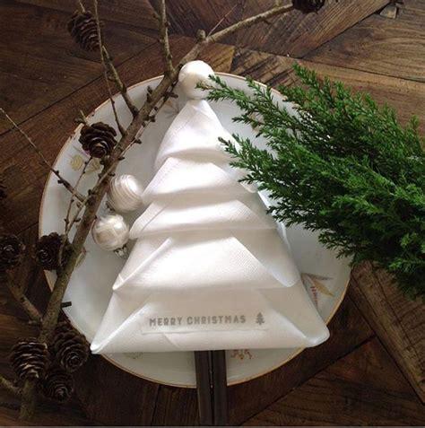 tannenbaum aus servietten basteln 25 einzigartige servietten falten weihnachten ideen auf