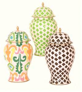 What Is Ginger Jars chinoiserie chic very chic ginger jars