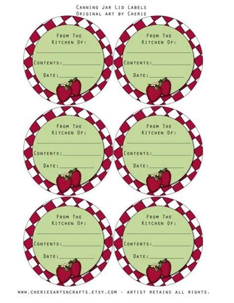 printable labels for jar lids 128 best images about canning jar labels on pinterest