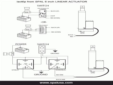electric linear actuator wiring diagram wiring forums
