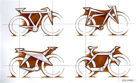 How To Make An Origami Bike - ori bicycle frame emily carr