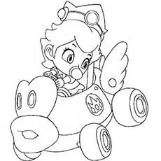 25 Best Princess Peach Coloring Pages For Your Little Girl sketch template