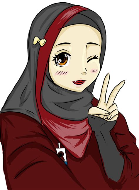 anime muslim girl wallpaper hijab girl selfie by soulpumpkin92 on deviantart