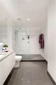 Modern Bathroom Tiles Melbourne Brunswick Bathroom Renovation Modern Bathroom