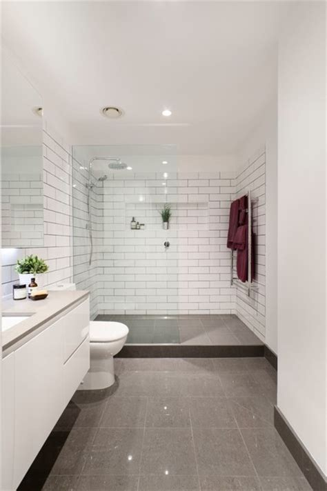 Modern Bathroom Tiles Melbourne Brunswick Bathroom Renovation Modern Bathroom