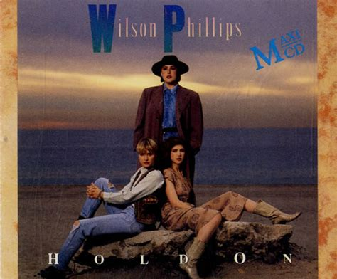 Phillips Light Wilson Phillips Hold On German Cd Single Cd5 5 Quot 140975