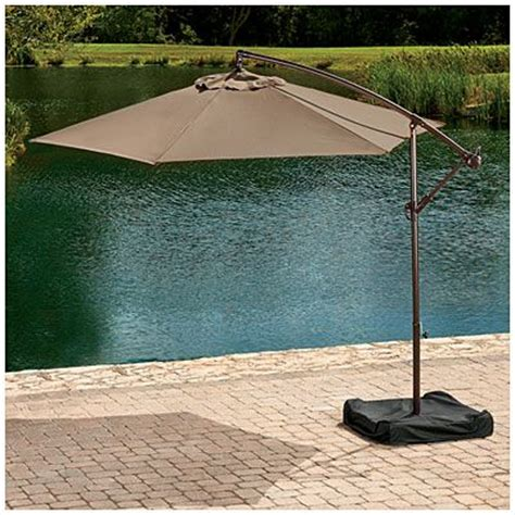 Big Lots Patio Umbrella Coral Coast 8 X 11 Ft Aluminum Rectangle Patio Umbrella Upcomingcarshq