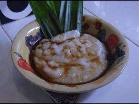 cara membuat bubur sumsum you tube cara membuat dan resep bubur sum sum youtube