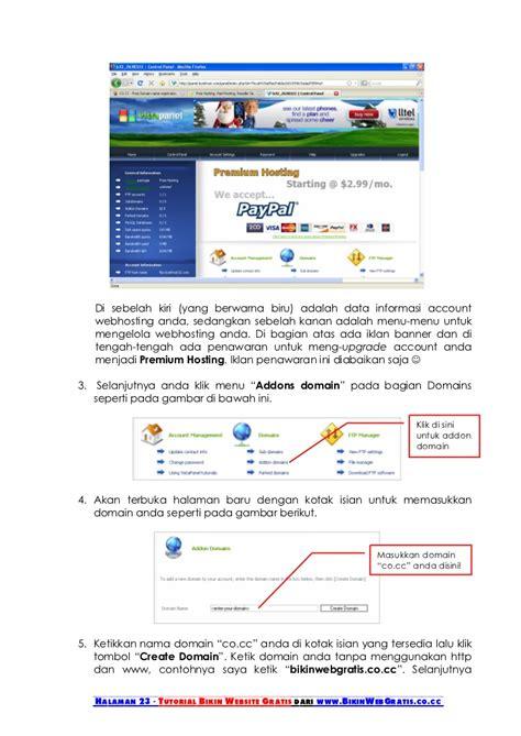 tutorial membuat website tutorial membuat website