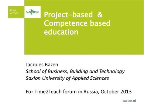 Competency Based Mba by Time2teach Russia J Bazen