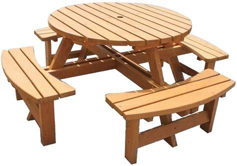 round wooden garden table bench large round wooden bench 8 seater pub garden park