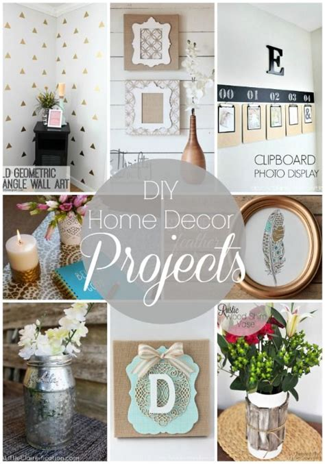 easy home decor 20 diy home decor projects link party features nap