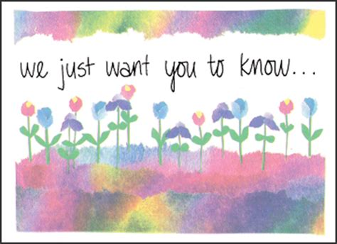 Thinking Of You Gift Card - heartfelt condolences card it takes two inc