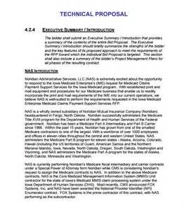 technical proposal template 7 download documents in psd