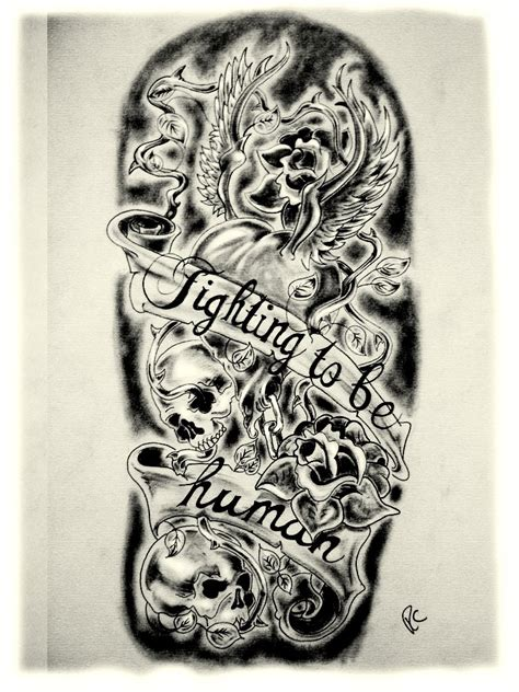 tattoo flash for men new school designs for sleeves